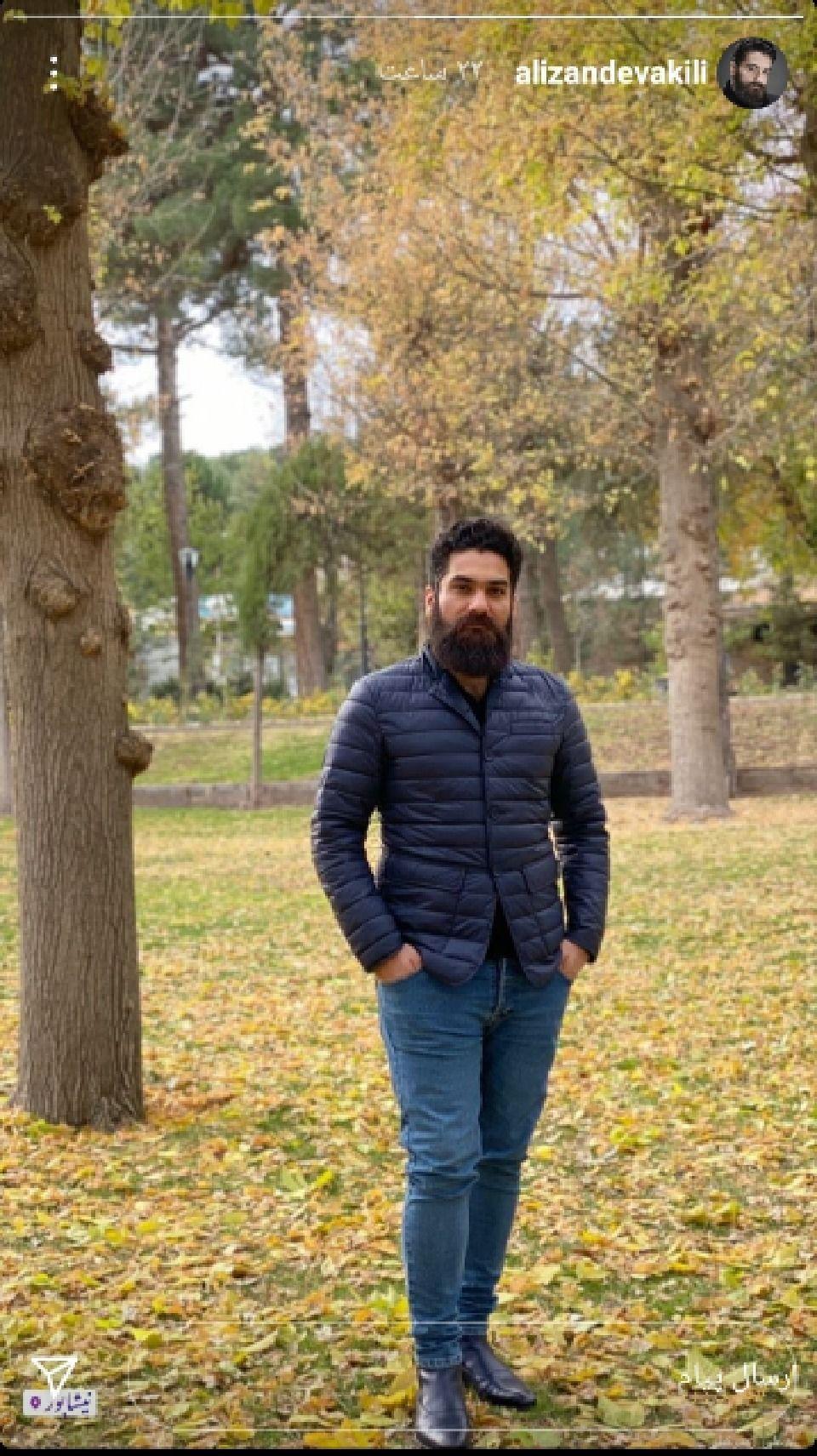 علی زندوکیلی در پاییز نیشابور