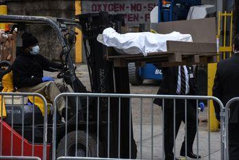 کرونا در آمریکا؛ پنتاگون ۱۰۰ هزار کیسه حمل اجساد سفارش میدهد