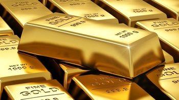 توقف رشد دلار باعث صعود قیمت طلا شد + نمودار