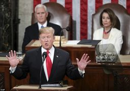 مشروح نطق سالانه ترامپ در کنگره آمریکا: از ایران چشم برنخواهیم داشت