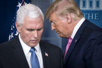 ترامپ استعفا میدهد، مایک پنس او را عفو میکند