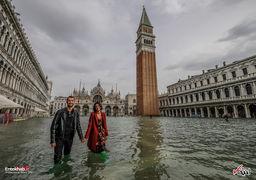 ونیز ایتالیا در آب