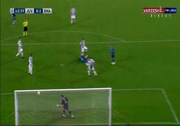 ویدئو؛ گل قیچی برگردون دیدنی رونالدو در بازی شب گذشته رئال مادرید و یوونتوس