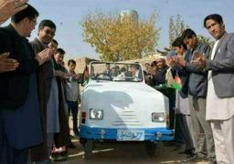 اولین خودرو ملی افغانستان ساخته شد + عکس
