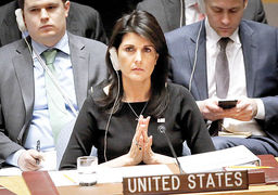 تکرار ادعاهای ضدایرانی اسرائیل از زبان نیکی هیلی