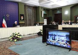 بررسی وضعیت شیوع و مقابله با کرونا در 4 استان کشور توسط رئیس جمهور