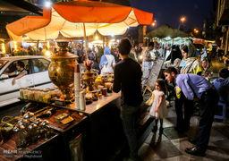 لحظه افطاری در سطح شهر تهران