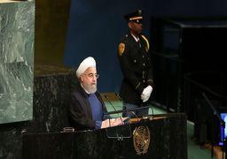 توئیت روحانی پس از سخنرانی سازمان ملل