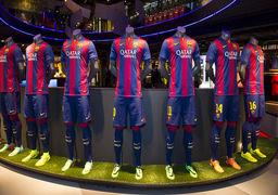 سوتی عجیب اسپانسر باشگاه بارسلونا