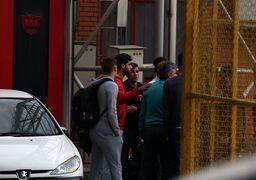 اعتصاب بازیکنان پرسپولیس امنیتی شد !