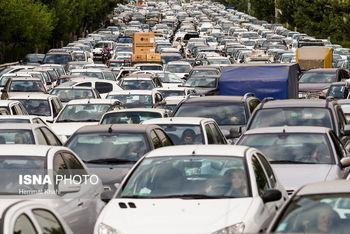 ورودی های تهران قفل شد