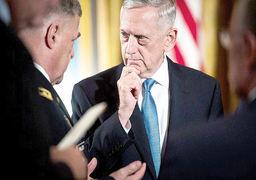 پیشبینی وزیر دفاع آمریکا از افزایش حملات تروریستی در افغانستان