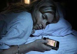 هشدار در مورد استفاده از تلفن هوشمند قبل از خواب