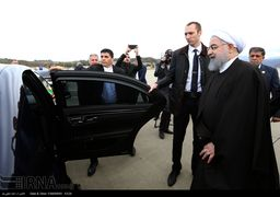 اسکورت ویژه روسیه برای روحانی در سوچی + عکس