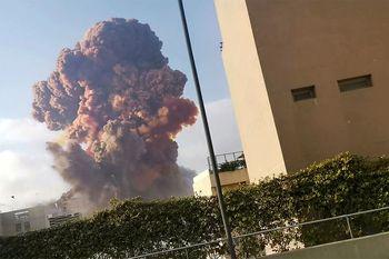 وداع مرد لبنانی با تازه عروس جان باخته در انفجار بیروت + فیلم