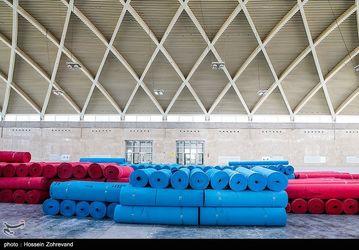 مراحل آماده سازی نمایشگاه کتاب تهران