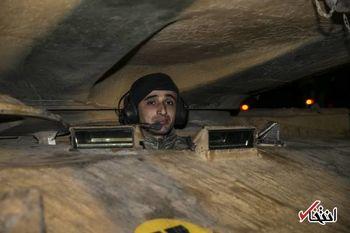عبور شبانه تانکهای ترکیه از مرز سوریه + عکس