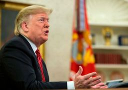ترامپ: دموکراتها میتوانند در 15 دقیقه تعطیلی را تمام کنند