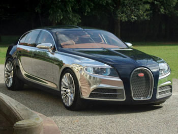 رونمایی از خودروی ۸میلیون دلاری بوگاتی+عکس