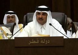 امیر قطر نشست اتحادیه عرب را ترک کرد