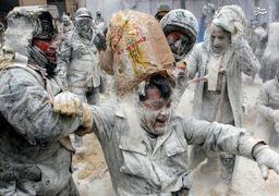 تصاویری از فستیوال آرد و تخممرغ