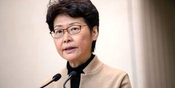 فرماندار هنگ کنگ تحریم میشود