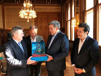 شهردار تهران با همتای اتریشی دیدار کرد
