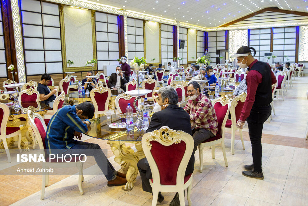 تصاویر: وضعیت تالارهای قم در روزهای هشدار کرونا