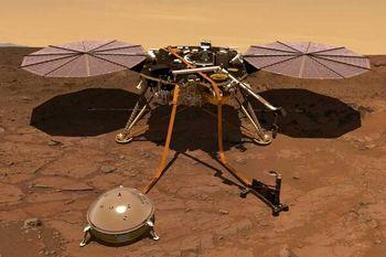 اطلاعات تازه ناسا از مریخ لرزه های سیاره سرخ