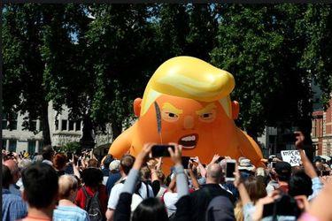 تظاهرات ضد ترامپ در لندن