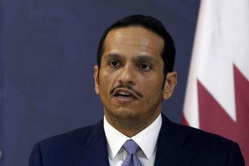 وزیر خارجه قطر: آمریکا خواهان جنگ با ایران نیست