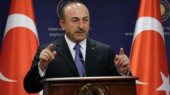 خشم وزیر خارجه ترکیه از پیشنهاد اروپا برای خروج از سوریه