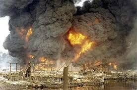آمار کشته های انفجار سکوی نفتی در نیجریه اعلام شد