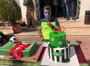 عکس تولد ۴۶ سالگی فردوسی پور با کیک ۹۰
