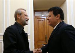 لاریجانی: جمهوری اسلامی ایران از امنیت سوریه حمایت میکند