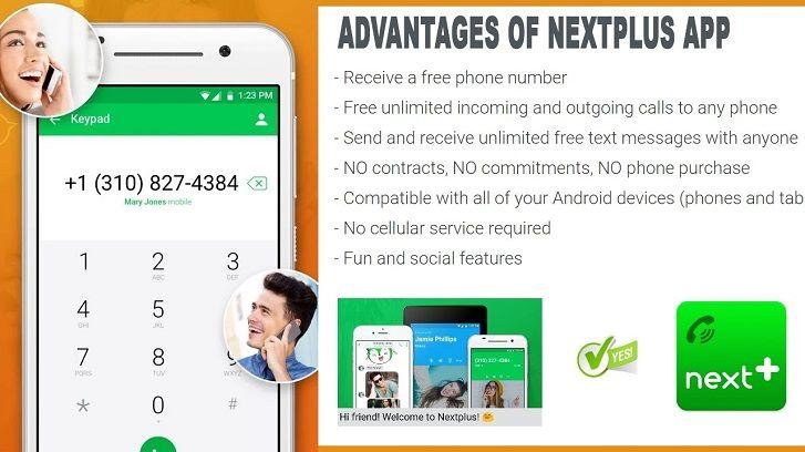 اپلیکیشن Nextplus
