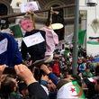 معترضان الجزایری در پی اخراج رئیس سازمان اطلاعات به خیابانها ریختند