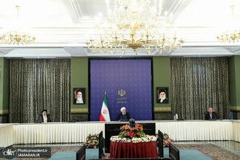 تصویری اولین جلسه شورای عالی امنیت ملی بدون لاریجانی با قالیباف