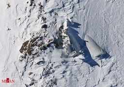 کارت ملی یکی از جانباختگان سقوط هواپیمای یاسوج از زیر برف پیدا شد + عکس