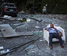 تصاویر تکاندهنده آتلانتیک از انفجار مهیب و بزرگ بیروت