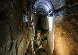 تونل مخفی حماس تخریب شد