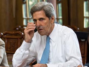جان کری: ایران به نوعی در حمله آرامکو نقش داشته است + فیلم