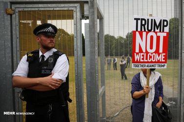 سفر ترامپ به انگلیس