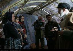 واکنش کاربران شبکه های اجتماعی به حضور رهبر انقلاب در مناطق زلزله زده + اینفوگرافی