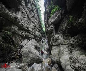 منطقه زیبای «دره چاکرود» در استان گیلان