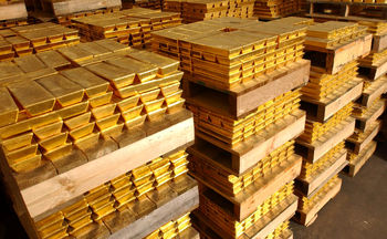 ذخایر 300 تنی طلای ایران