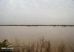 مقابله با محاصره سیلاب در خوزستان