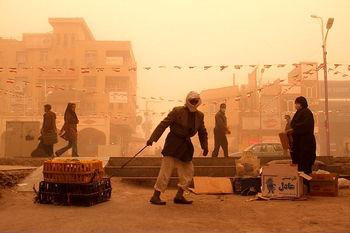 احتمال نفوذ گرد و خاک عراق به کشور