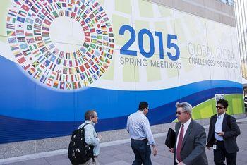 در نشست مشترک صندوق بینالمللی پول و بانک جهانی چه میگذرد؟