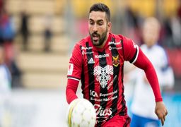 سامان قدوس بهترین مهاجم لیگ سوئد شد